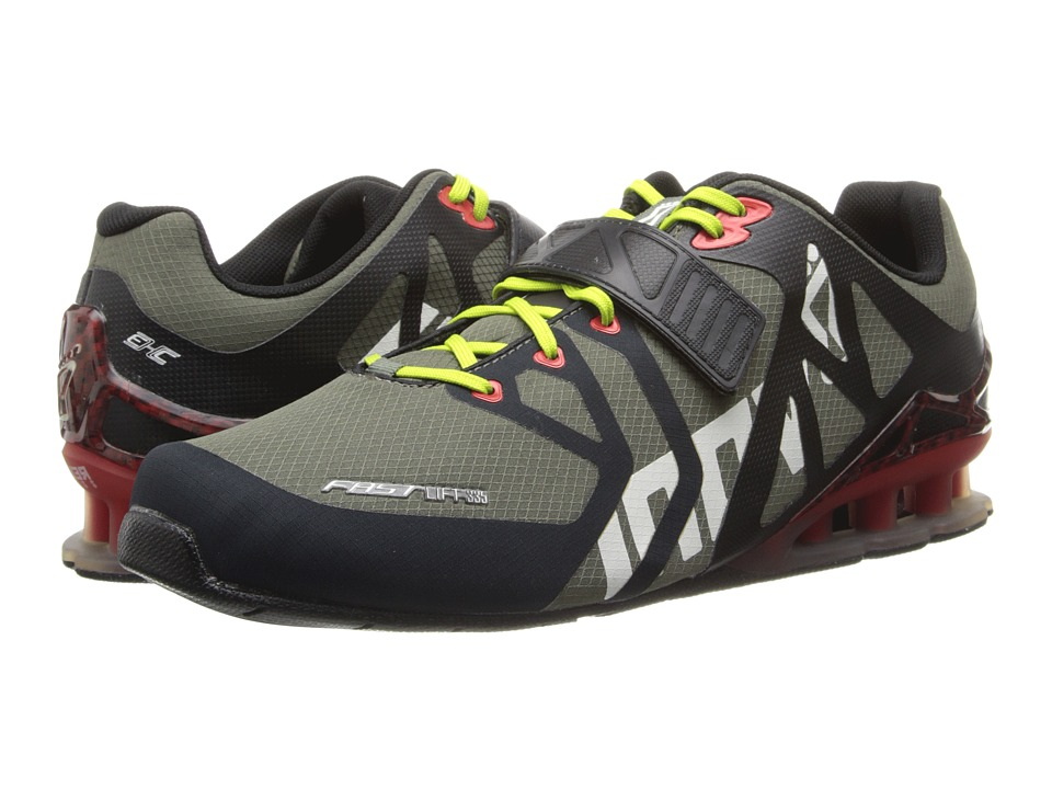 inov-8 - FastLifttm 335 (Forrest/Black/Red/Lime) Men's Running Shoes