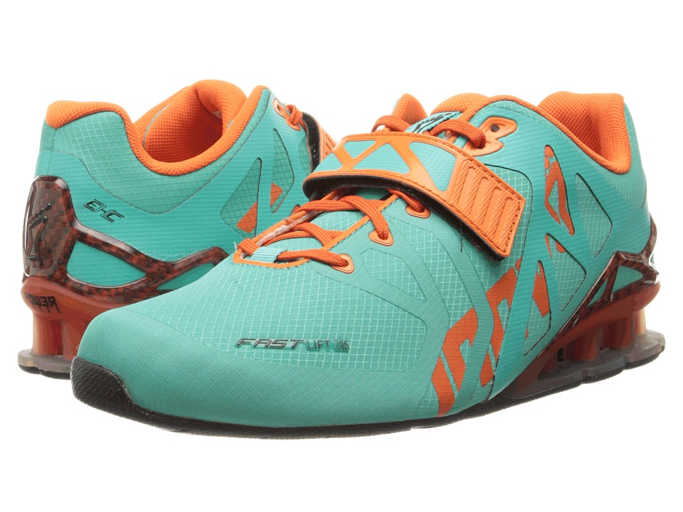inov-8 - FastLift 335 (Teal/Flame) Women's Running Shoes