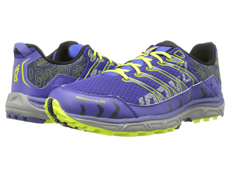 inov-8 - Race Ultra 290 (Navy/Lime) Men's Running Shoes