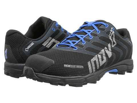 inov-8 - Roclite 282 GTX (Black/Blue) Men's Running Shoes