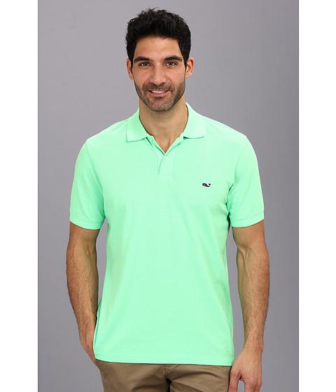 Vineyard Vines - Neon Garment Dyed Polo (Green) Men