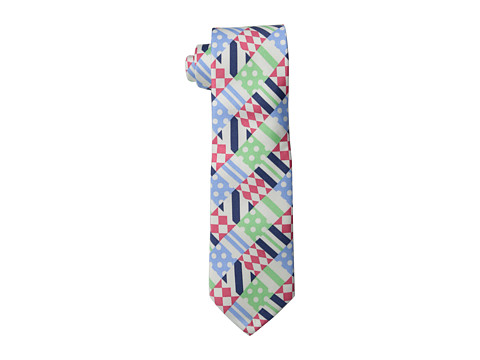 Vineyard Vines - Kentucky Derby Printed Derby Patchwork Tie 58 (Multi) Ties