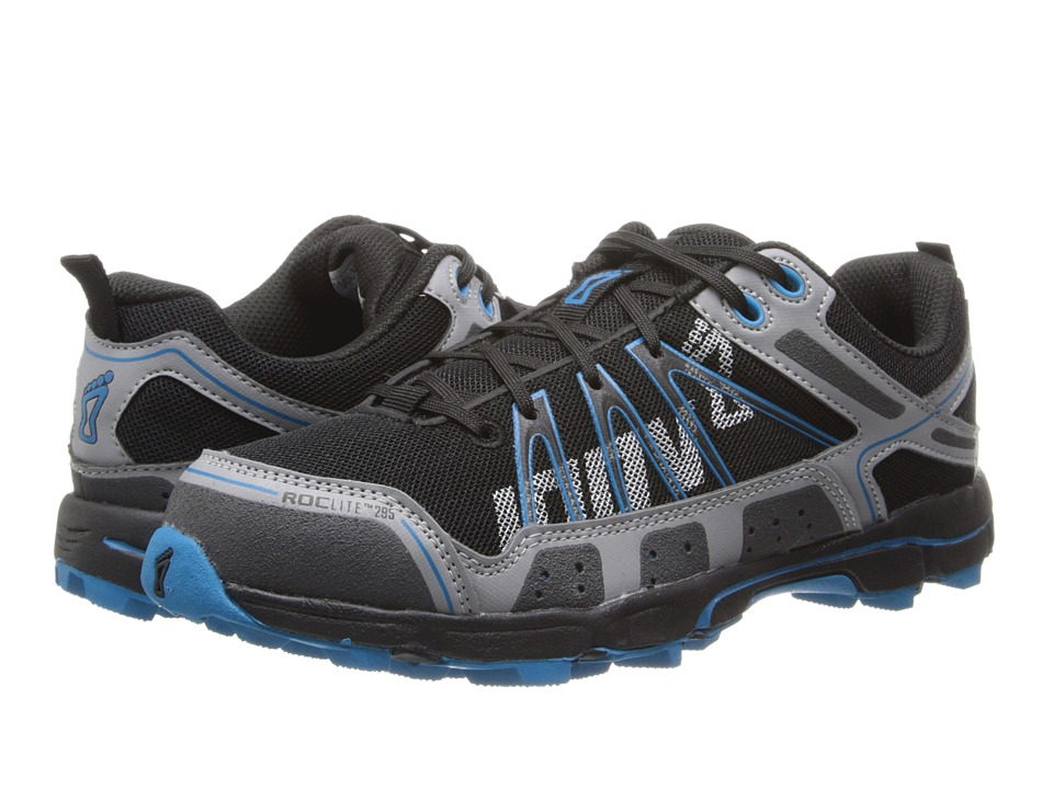 inov-8 - Roclite 295 (Grey/Blue) Women's Running Shoes