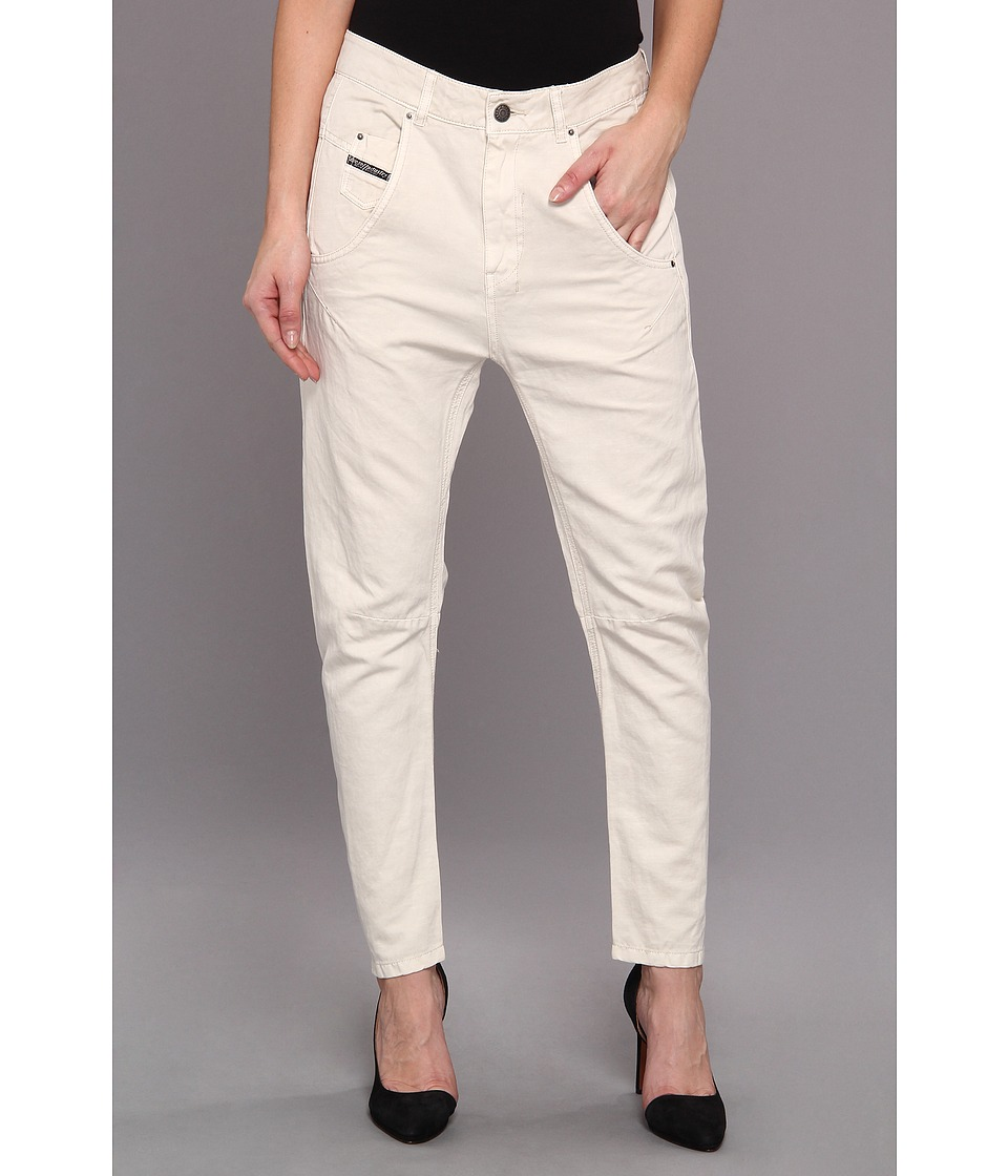 Diesel - Fayza-N Boyfriend (Off/White) Women's Casual Pants