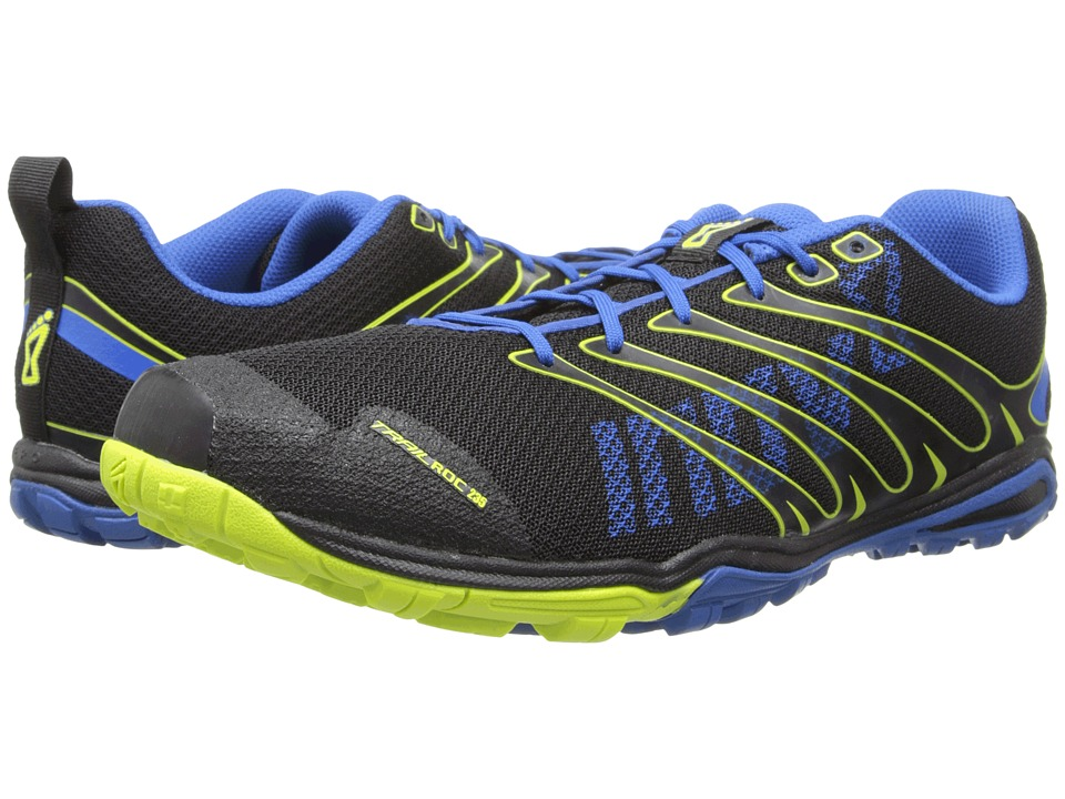 inov-8 - Trailroc 235 (Black/Blue/Lime) Men's Running Shoes