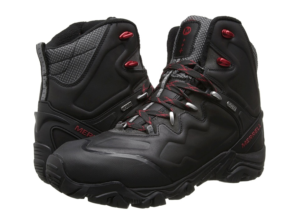 Merrell - Polarand 8 Waterproof (Black) Men's Hiking Boots