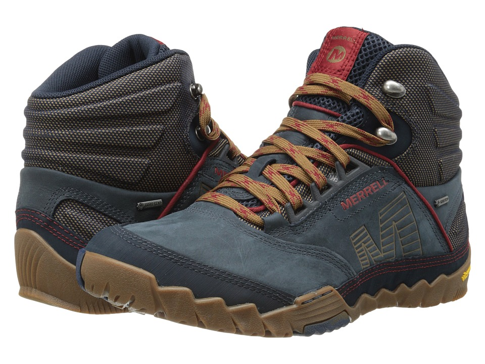 Merrell - Annex Mid GORE-TEX (Blue Wing) Men's Hiking Boots