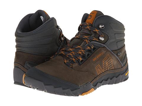 Merrell - Annex Mid GORE-TEX (Merrell Stone) Men's Hiking Boots