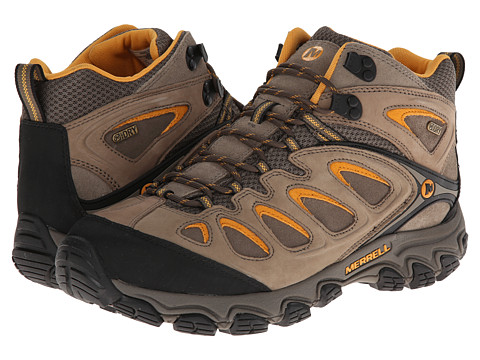 Merrell - Pulsate Mid Waterproof (Brindle/Boulder) Men