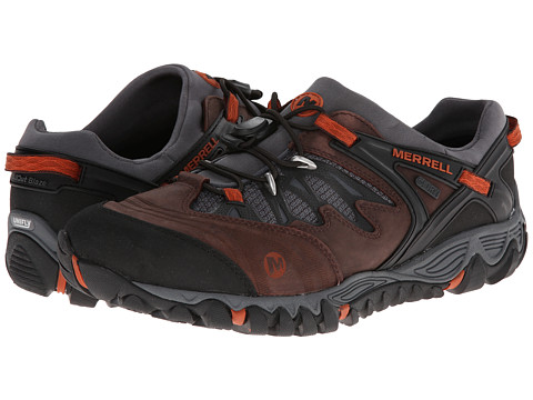 Merrell - AllOut Blaze Stretch Waterproof (Brown) Men