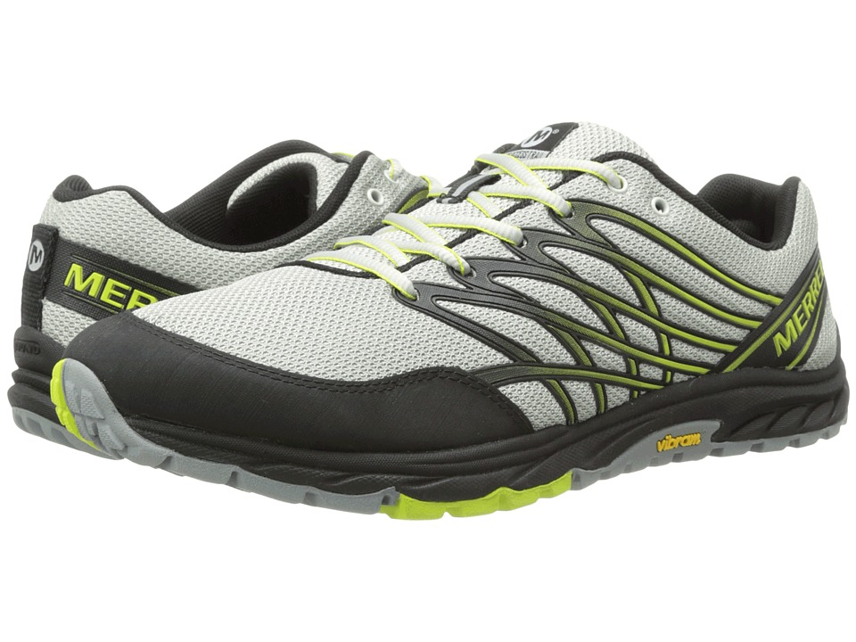 Merrell - Bare Access Trail (Ice/Lime) Men's Running Shoes