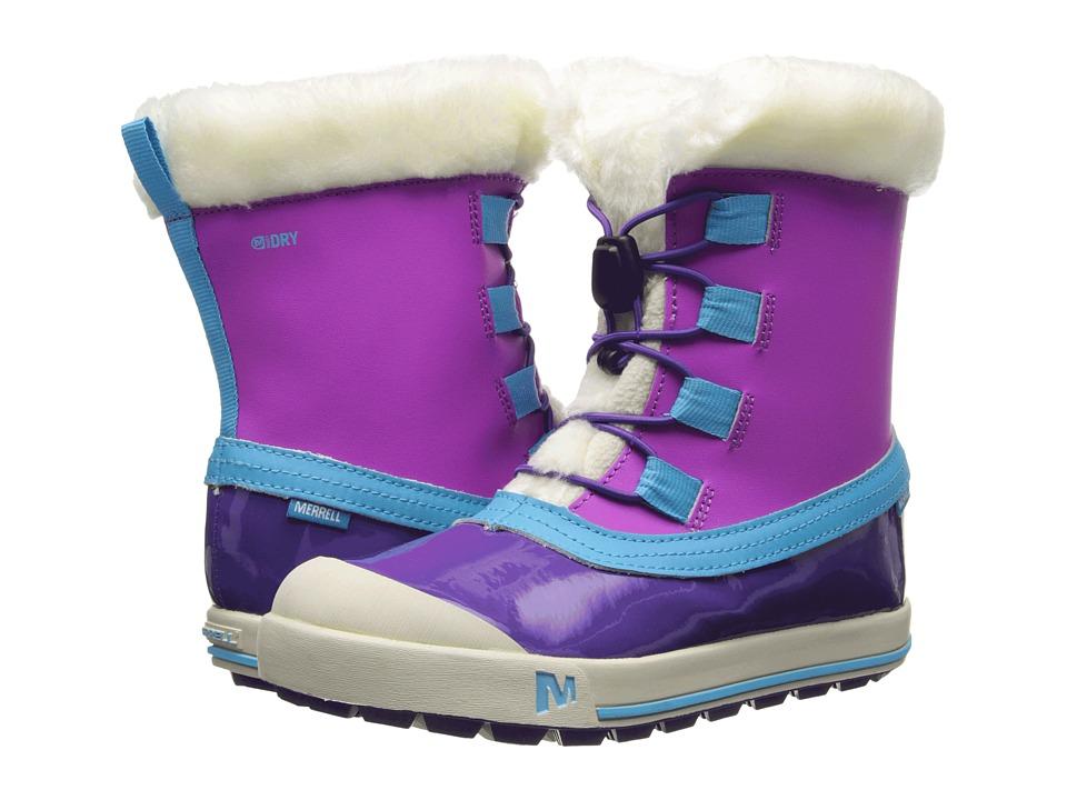 Merrell Kids - Spruzzi Waterproof Kids (Little Kid/Big Kid) (Purple/Blue) Girls Shoes