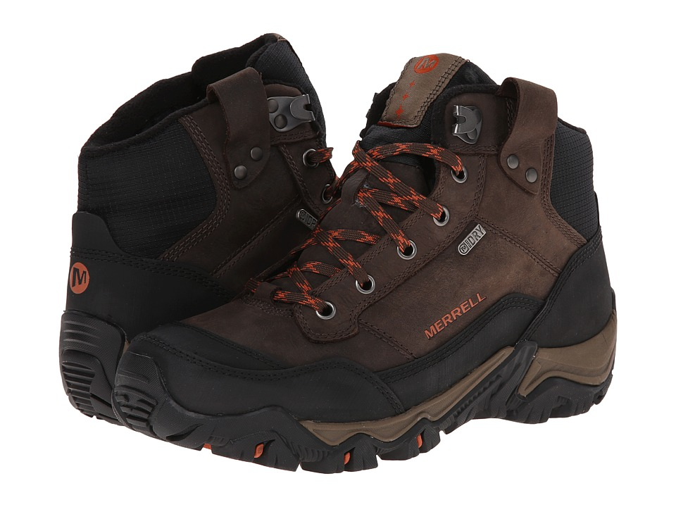 Merrell - Polarand Rove Waterproof (Black Slate) Men's Hiking Boots