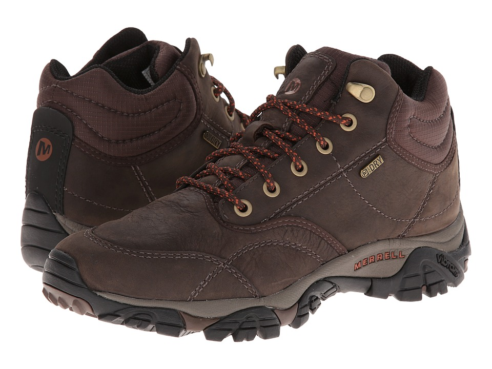 Merrell - Moab Rover Mid Waterproof (Espresso) Men's Waterproof Boots