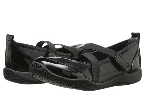 Nina Kids - Sarena (Toddler/Little Kid/Big Kid) (Black Stretch Smooth/Black Patent) Girls Shoes