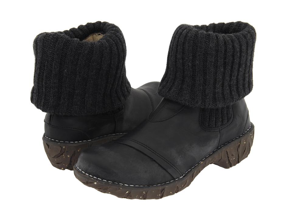 El Naturalista - Iggdrasil N097 (Black) Women's Pull-on Boots