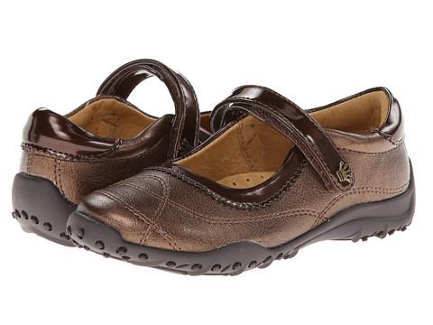 Nina Kids Daphne (Toddler/Little Kid/Big Kid) (Bronze Metallic/Bronze Patent) Girls Shoes
