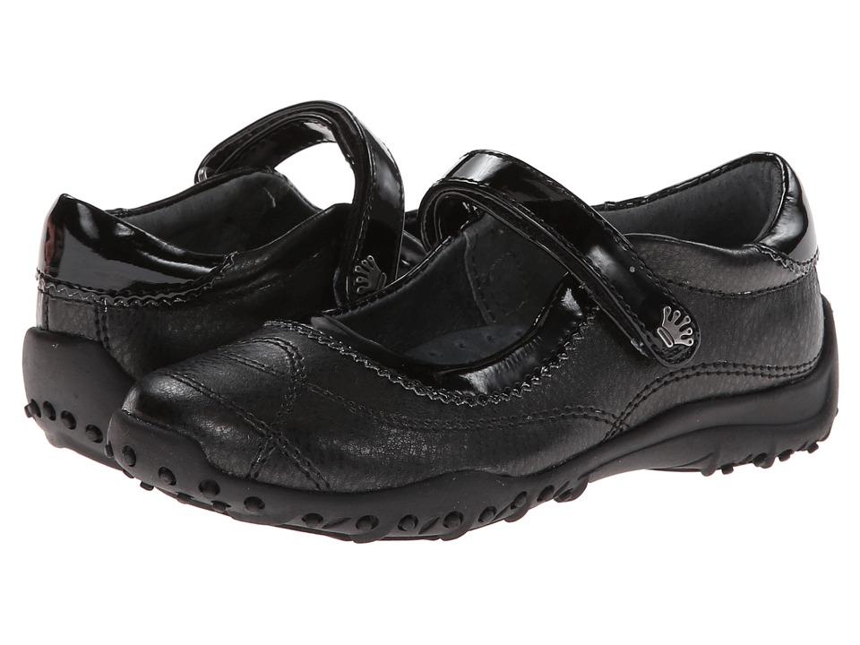 Nina Kids - Daphne (Toddler/Little Kid/Big Kid) (Black Metallic/BlackPatent) Girls Shoes