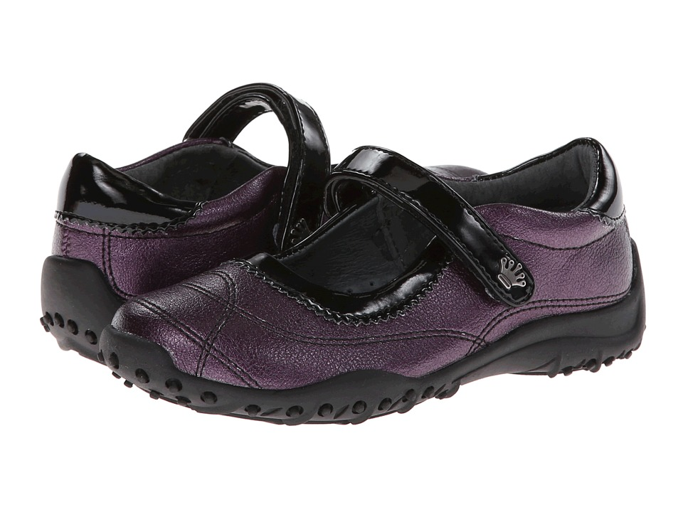 Nina Kids - Daphne (Toddler/Little Kid/Big Kid) (Violet Metallic/Violet Patent) Girls Shoes