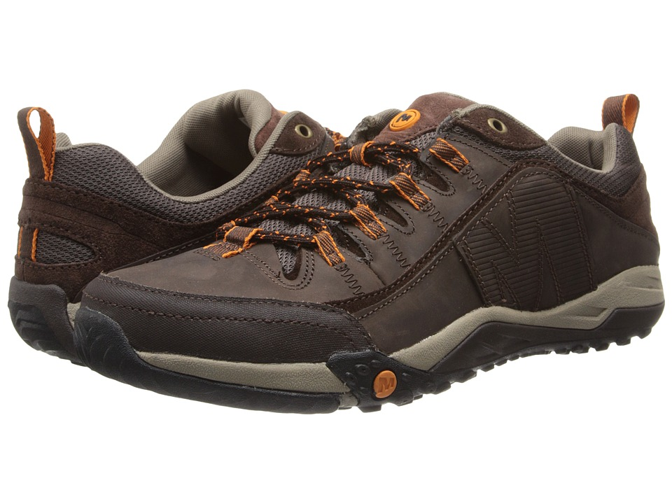 Merrell - Helixor Distort (Espresso) Men's Lace up casual Shoes