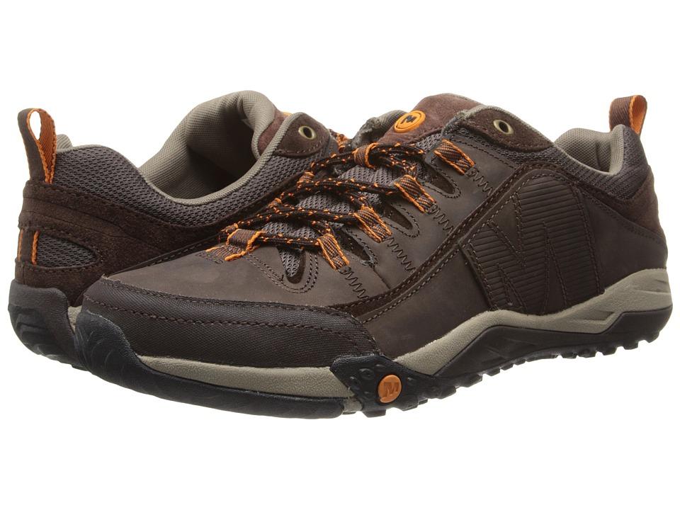 Merrell - Helixor Distort (Espresso) Men's Lace up casual Shoes