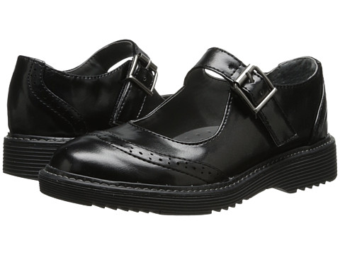 Nina Kids - Katty (Toddler/Little Kid/Big Kid) (Black Shine) Girls Shoes