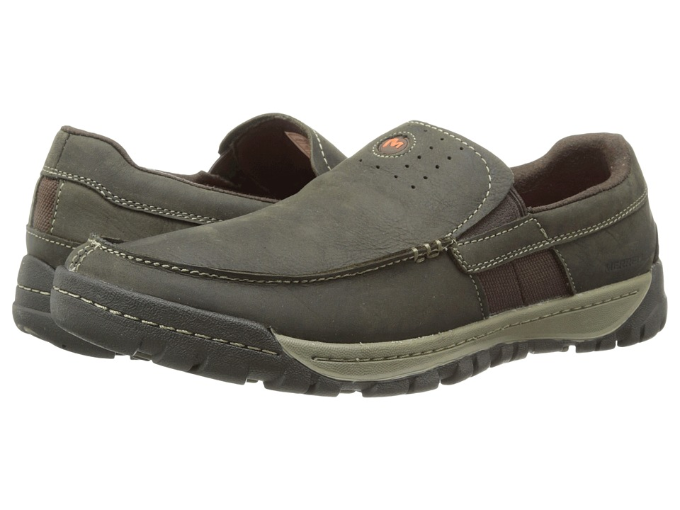 Merrell - Traveler Point Moc (Falcon) Men's Slip on Shoes