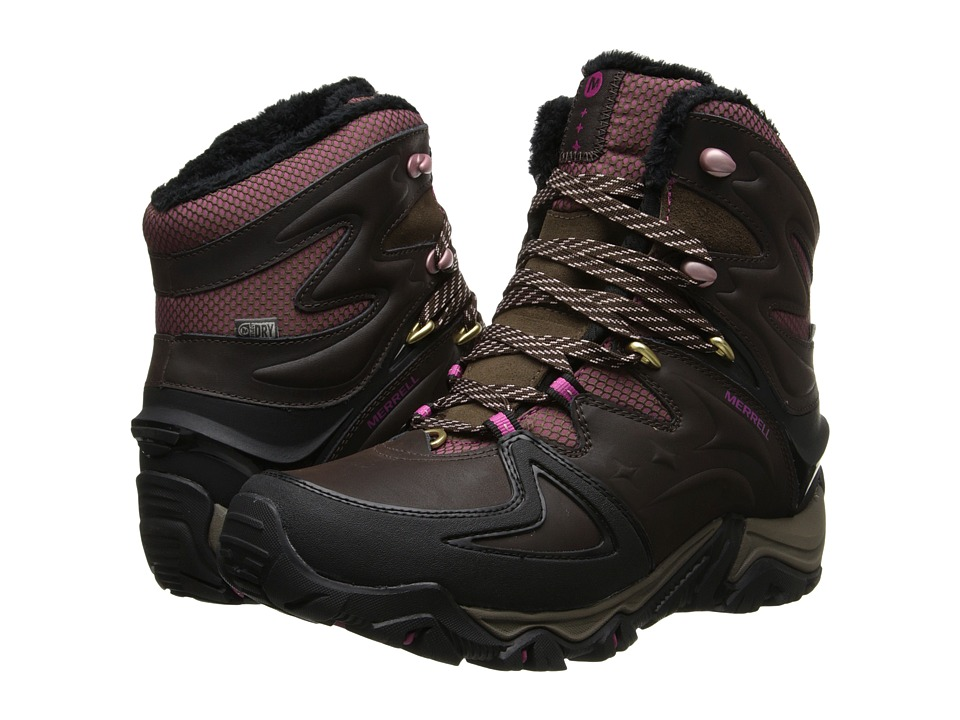 Merrell - Polarand 8 Waterproof (Espresso) Women's Hiking Boots