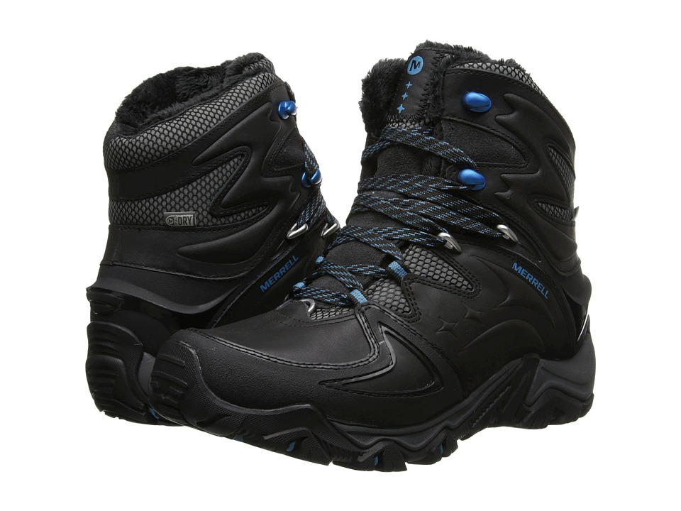 Merrell - Polarand 8 Waterproof (Black) Women's Hiking Boots