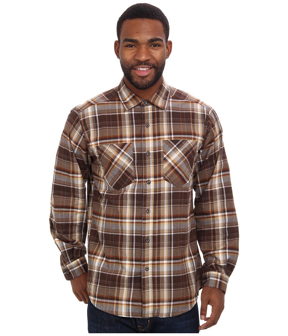 ExOfficio - Geode Flannel L/S (Tough) Men's Long Sleeve Button Up