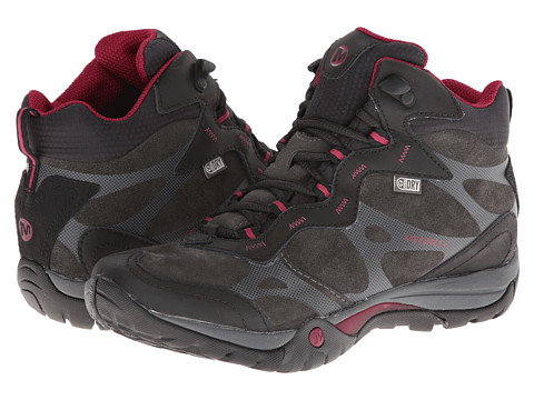Merrell - Azura Carex Mid Waterproof (Black) Women's Hiking Boots