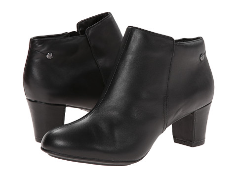 Hush Puppies - Corie Imagery (Black Leather) Women
