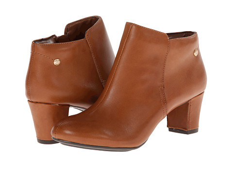 Hush Puppies - Corie Imagery (Tan Leather) Women