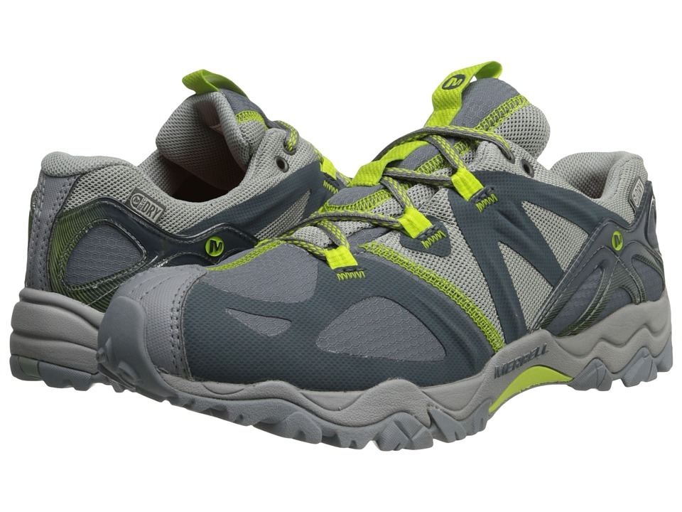 Merrell - Grassbow Sport Waterproof (Dark Slate/Lime) Women