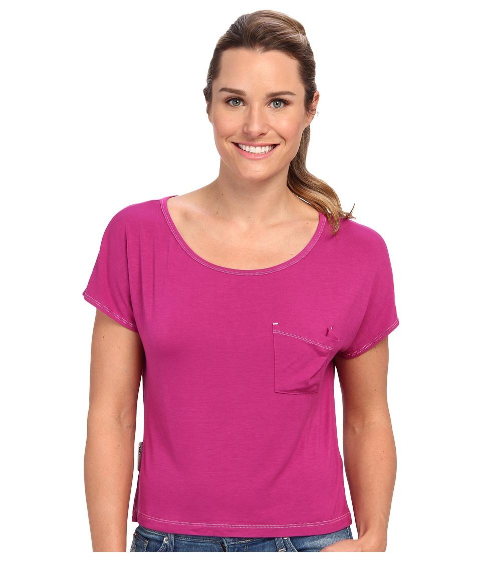 UGG - Ella S/S Knit (Victorian Pink) Women's Short Sleeve Pullover