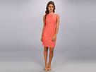 Adrianna Papell Sleeveless Dress (Guava)