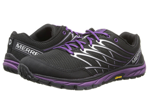 Merrell - Bare Access Trail (Black/Purple) Women's Running Shoes