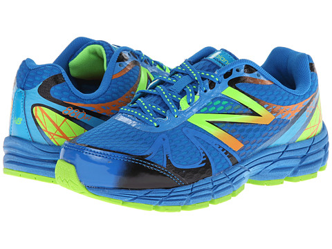 New Balance Kids - 880v4 (Little Kid/Big Kid) (Blue/Green) Boys Shoes