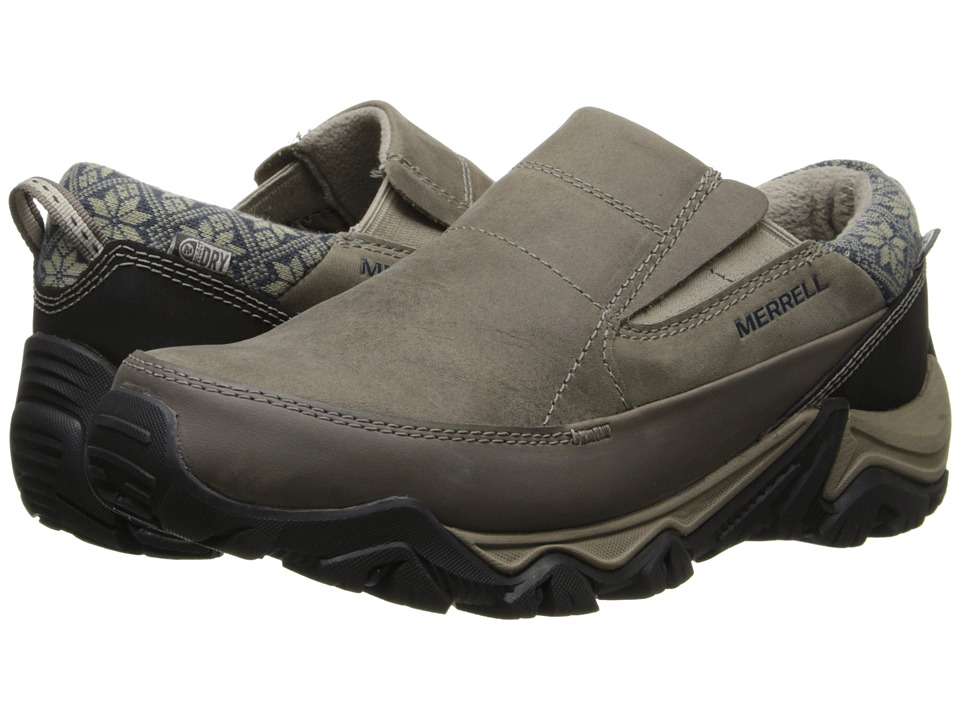 Merrell - Polarand Rove Moc Waterproof (Boulder) Women's Slip on Shoes