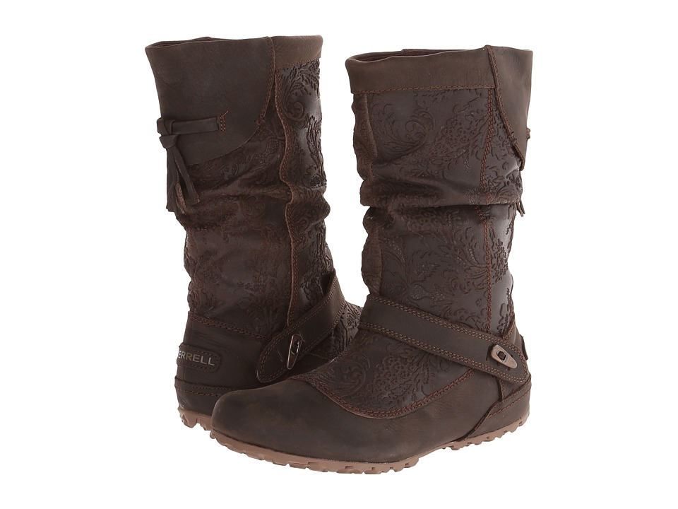 Merrell - Haven Pull (Brown) Women's Pull-on Boots