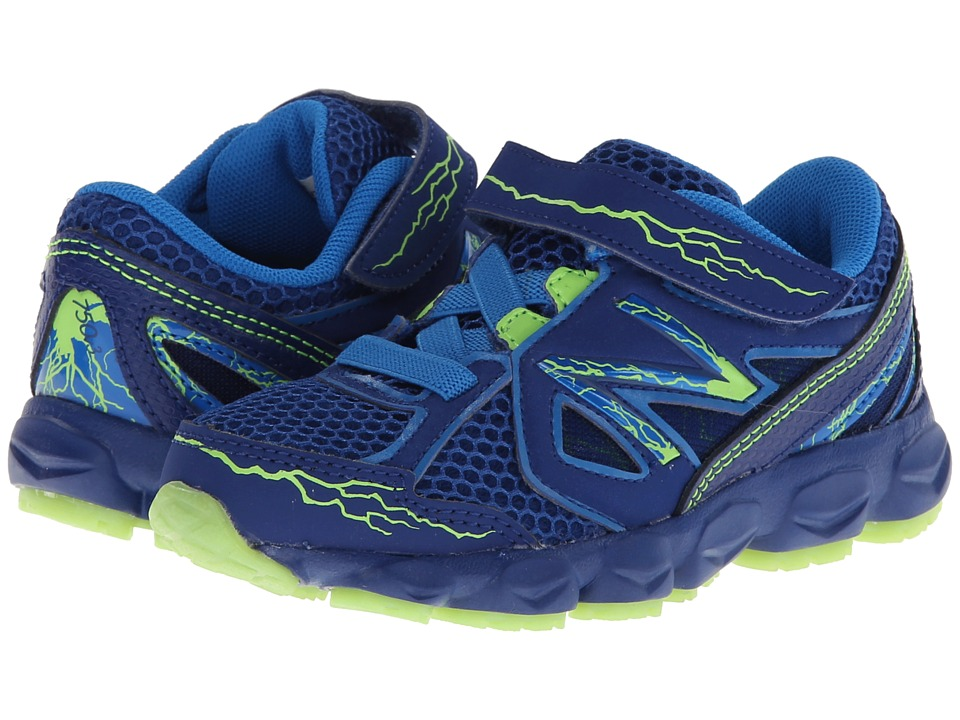 New Balance Kids - 750v3 (Infant/Toddler) (Blue/Yellow) Boys Shoes