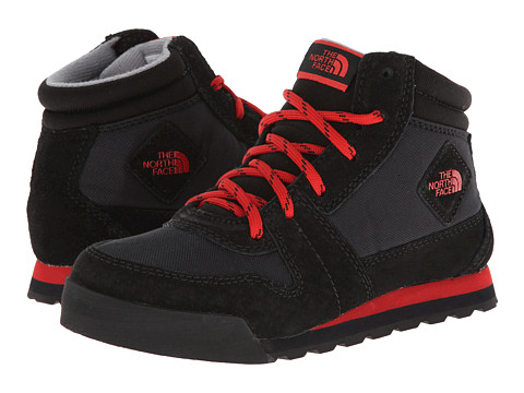 The North Face Kids - Back-To-Berkeley 68 Waterproof (Toddler/Little Kid/Big Kid) (TNF Black/TNF Red) Boys Shoes