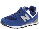New Balance Kids KL574 (Big Kid) (Blue)