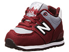 New Balance Kids 574 (Infant/Toddler) (Burgundy)