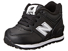 New Balance Kids 574 (Infant/Toddler) (Black)
