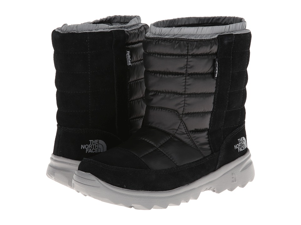 The North Face Kids - Winter Camp Waterproof (Little Kid/Big Kid) (TNF Black/Griffin Grey) Boys Shoes