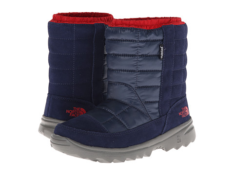 The North Face Kids - Winter Camp Waterproof (Little Kid/Big Kid) (Midline Blue/TNF Red) Boys Shoes