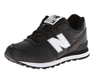 New Balance Kids KL574 (Little Kid) (Black '14)