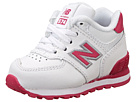 New Balance Kids 574 (Infant/Toddler) (White/Pink)