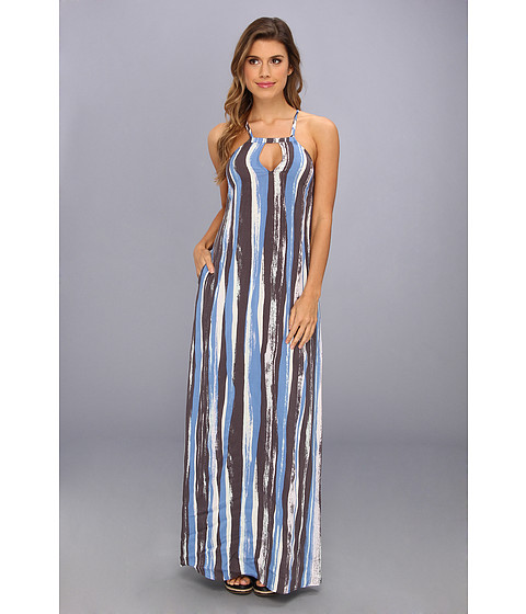 BCBGeneration - Strappy Maxi Dress QWT60A26 (Celestial Multi) Women's Dress